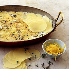 Lemon-and-Thyme Potato Gratin