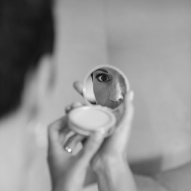 The eye by Lodewyk W Goosen-Photography - Wedding Getting Ready ( married, makeup, bride, marriage, ready )
