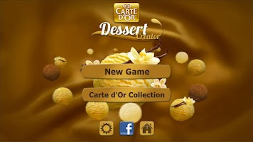 Screenshot of Carte d'Or Dessert Creator