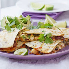 Salsa Chicken & Cheese Tortillas