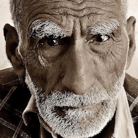 help me by Lalaji Anwar - Black & White Portraits & People