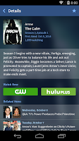 Screenshot of TV Guide Mobile