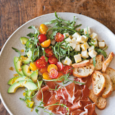 Antipasto Salad with Peperoncini Vinaigrette