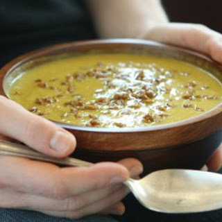 Creamy Curried Cauliflower Soup