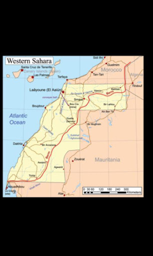 Wallpaper Western Sahara