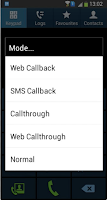 Screenshot of CallNow