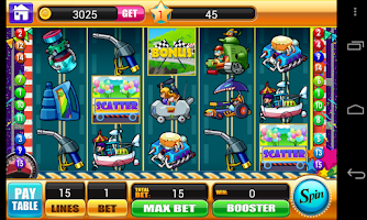 Screenshot of Slots - Underground Racing