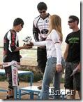 Un momento de la entrega de premios. Fotografía realizada por Ender, pubilicada en www.foromtb.com.