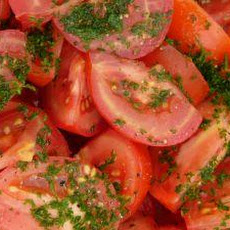 Beautiful Tomato and Mint Salad