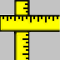 Estimate metric phone. icon