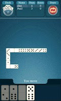 Screenshot of Dominoes Online