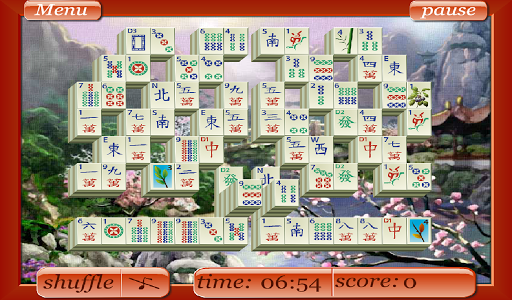 Mahjong - Valley in Mountains - screenshot