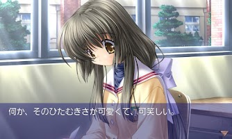 Screenshot of CLANNAD