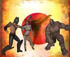 Screenshot of Black Belt Fighter