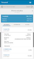 Screenshot of Barclays Spain