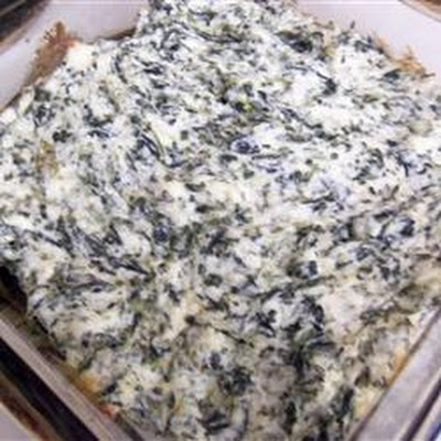 Hot Asiago and Spinach Dip