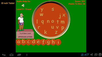 Screenshot of Alphabet Soup