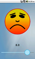Screenshot of Kids Pain Scale