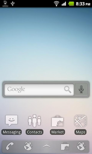 Sense Glass ADW Theme