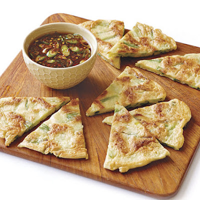 Korean-Style Scallion Pancakes