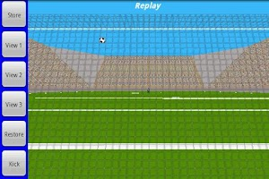 Screenshot of Curve Kick Junior