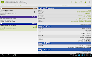 Screenshot of Package Buddy Pro