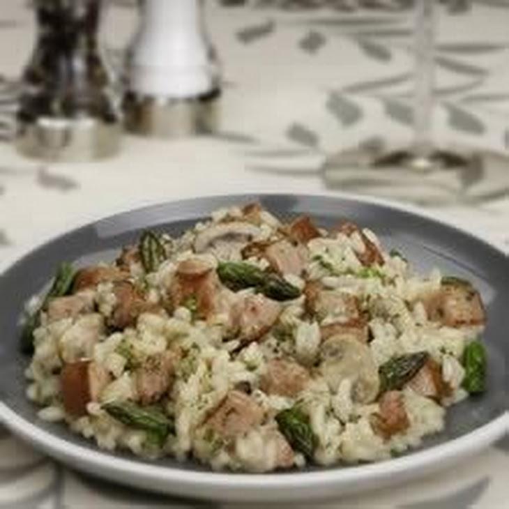 Asparagus and Sausage Risotto Recipe | Yummly
