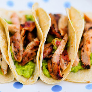 Beer-Marinated Chicken Tacos