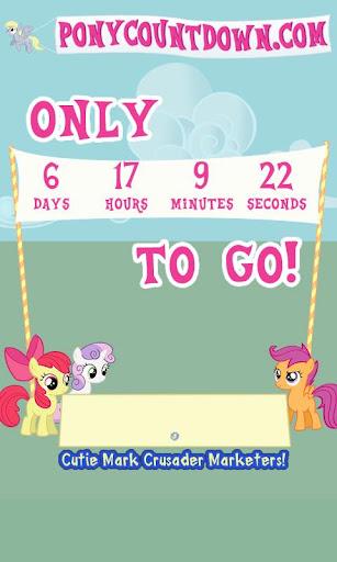 【免費娛樂App】PonyCountdown-APP點子