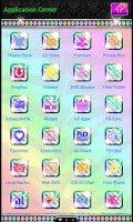 Screenshot of Luxury Theme Rainbow Tiger SMS