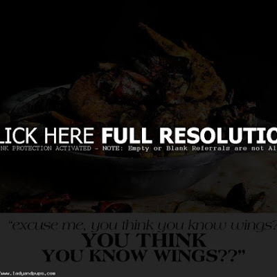 CHICKEN WINGS ON THE MISSION