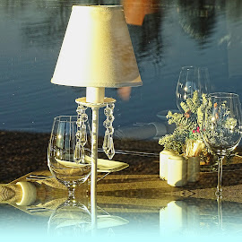 Evening sip  by Tihomir Beller - Artistic Objects Glass
