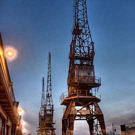 Remember me by Matthew Cordwell - City,  Street & Park  Historic Districts ( port, structure, crane, avon, industry, steel, bristol )