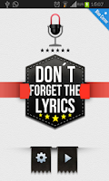 Screenshot of Dont Forget the Lyrics 2