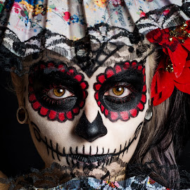 La Catrina by Tim Paza May - People Body Art/Tattoos ( tim paza may, brazil, model, make up, la catrina, mexico, sugar skull, dia de los muertos )
