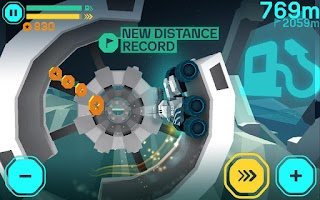 Screenshot of Lynx Lunar Racer