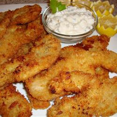 Panko-Breaded Fried Razor Clams