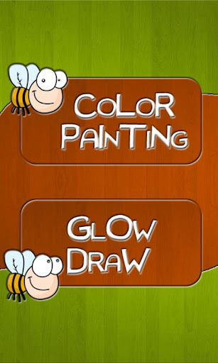Kids Doodle Painting Glow Draw