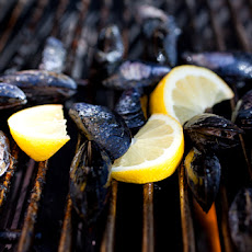 Lemongrass and Coconut Cream Grilled Mussels