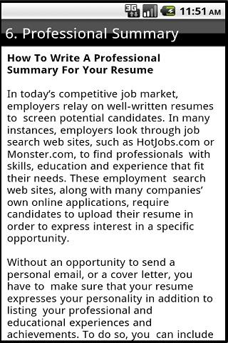 How To Write Your Own Curriculum Vitae