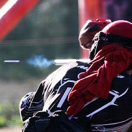 Paintball by Paula Soares - Sports & Fitness Other Sports ( ball, red, paintball, sport, pop, team, game, shot, shooting )