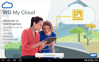 Screenshot of WD My Cloud