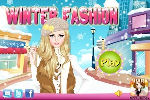 Screenshot of Dress Up - Winter Fashion