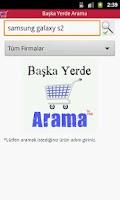 Screenshot of Baska Yerde Arama
