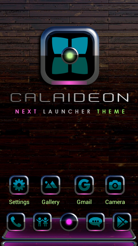 CALAIDEON Next Launcher Theme Screenshot 0
