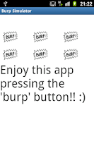 Screenshot of burp simulator