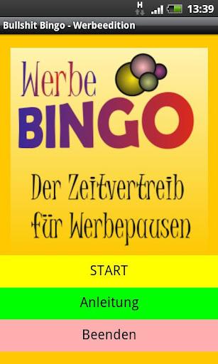 Werbepausen Bingo