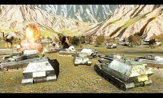 Screenshot of Battlefield Tank