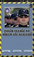 Screenshot of Polis Siren Telsiz Zil Sesleri