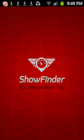 Screenshot of ShowFinder